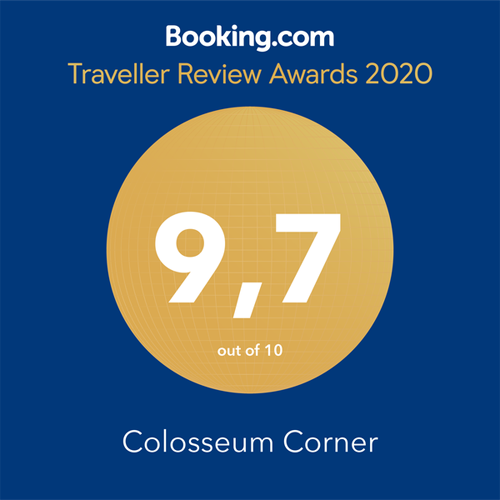 Colosseum Corner - Booking.com - Traveller Review Awards